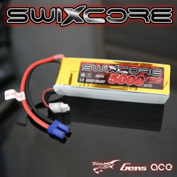 SWIXCORE - 5000 mAh 6S 22.2V 60C Lipo Pack