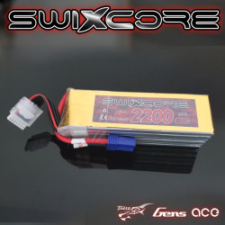 SWIXCORE - 2100 mAh 6S 22.2V 60C Lipo Pack