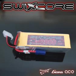 SWIXCORE - 2800 mAh 6S 22.2V 60C Lipo Pack